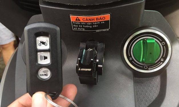 Khóa chống trộm xe máy loại nào tốt: Kinbar, Perfect và Iky?