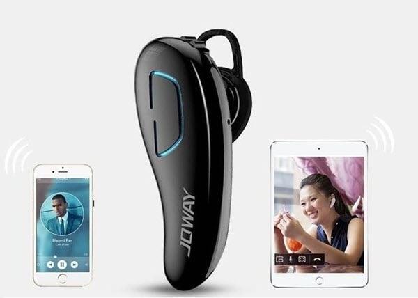 Joway H02 có khả năng kết nối 2 điện thoại một lúc, rất thuận tiện khi sử dụng