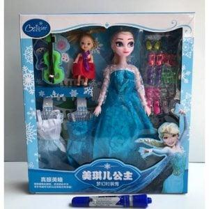 Búp bê Elsa cho bé, đầy đủ phụ kiện đi kèm