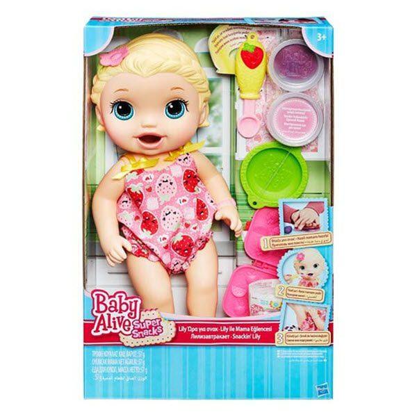 Bổ Đồ Chơi Búp Bê Baby Alive - Bé Lily Tập Ăn Dặm