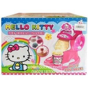 Đồ chơi máy làm kem mini, làm kem thật ăn được