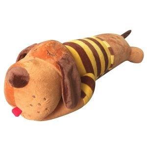 Gối Ôm Chó Bông Mặc Áo ICHIGO (90cm)