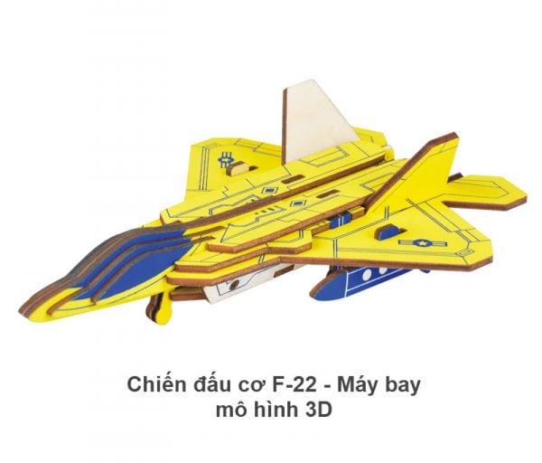 Chiến đấu cơ F-22 - Máy bay mô hình 3D