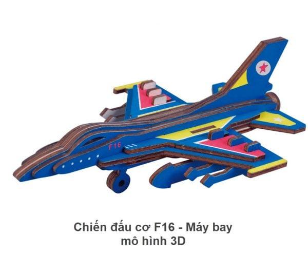 Chiến đấu cơ F16 - Máy bay mô hình 3D