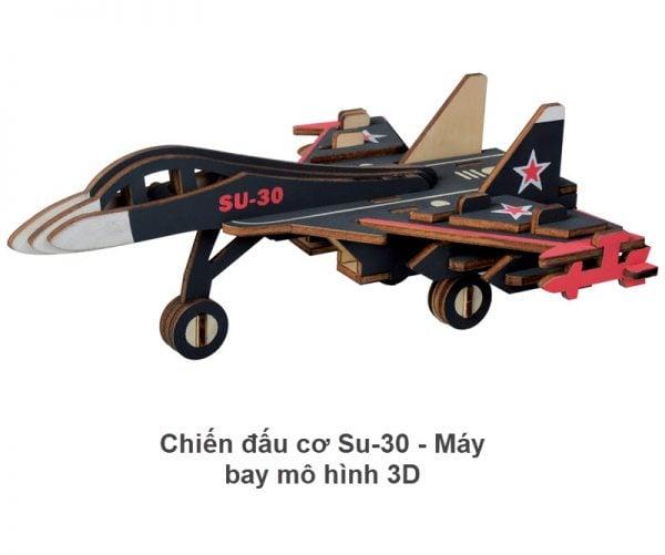 Chiến đấu cơ Su-30 - Máy bay mô hình 3D