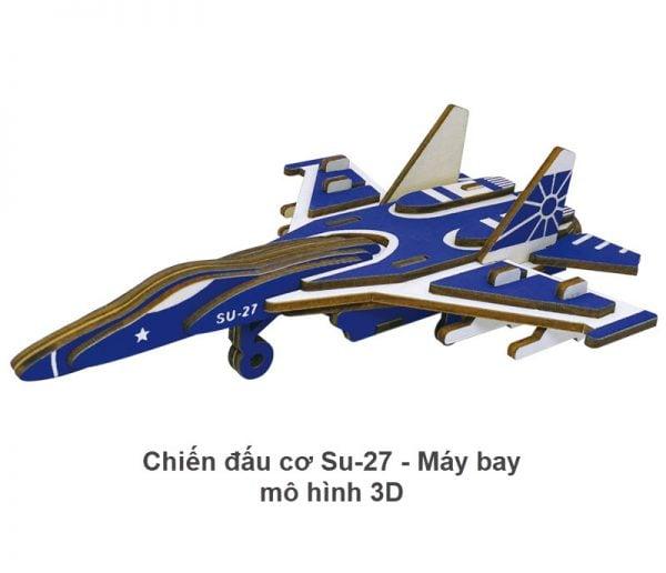 Chiến đấu cơ Su-27 - Máy bay mô hình 3D