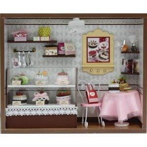 Ngôi nhà búp bê lắp ghép - Tiệm bánh Cake Love thu nhỏ