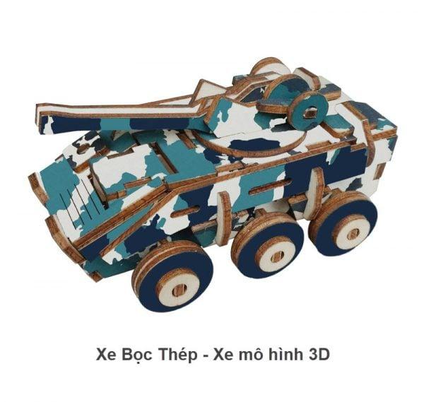 Xe bọc thép - Xe mô hình 3D