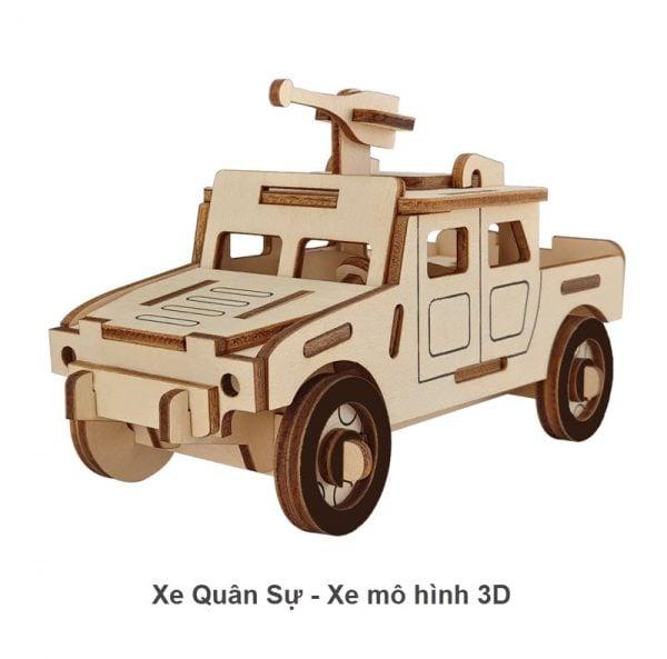 Xe quân sự - Xe mô hình 3D