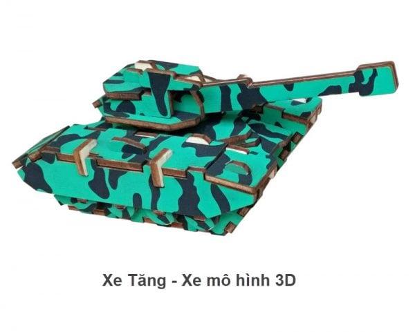Xe tăng - Xe mô hình 3D