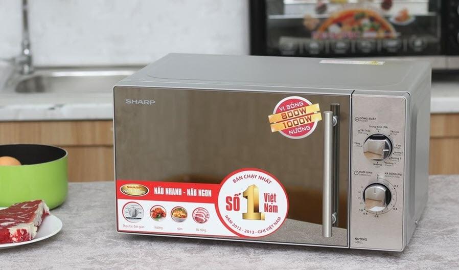 Lò vi sóng Sharp – Thương hiệu gần gũi căn bếp của mọi gia đình