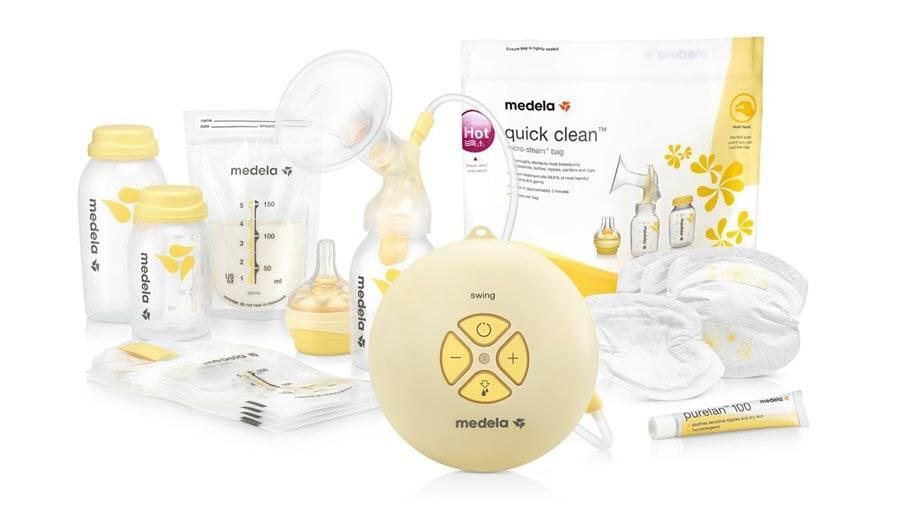 Máy hút sữa Medela - Thương hiệu chất lượng cho mẹ có con nhỏ