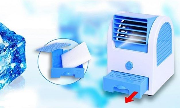 Quạt hơi nước Mini – Máy điều hòa di động – Giải pháp cho mùa hè nóng nực