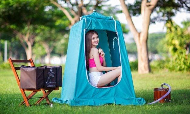 Kinh nghiệm chọn mua lều xông hơi xạ hương chất lượng tốt