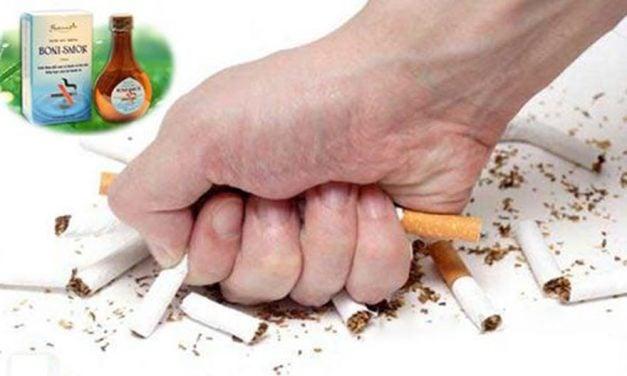 Nước súc miệng Boni Smok – phương pháp bỏ thuốc lá hiệu quả và an toàn