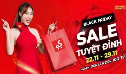 Black Friday – sale tuyệt đỉnh