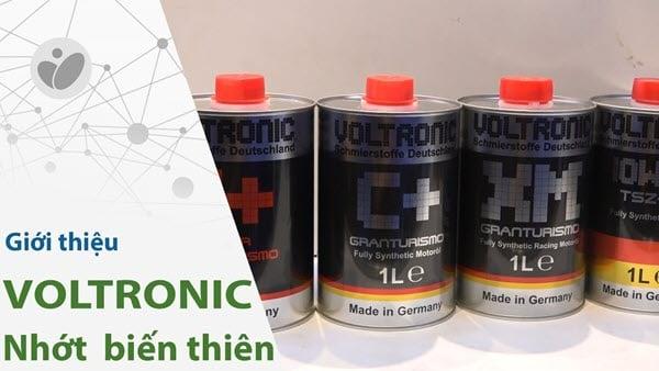 Dầu nhớt Voltronic Granturismo C+ 1L bôi trơn và bảo vệ động cơ tốt trong môi trường khắc nghiệt