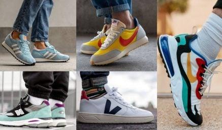Top 10+ thương hiệu giày sneaker nam chính hãng đẹp và bán chạy nhất 2019
