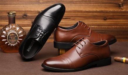 Top 10+ thương hiệu giày Tây nam cao cấp, chất lượng tốt nhất hiện nay 2019