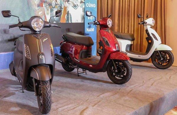 Xe máy SYM có tính thẩm mỹ cao, giá thành thấp phù hợp với thị trường tiêu dùng tại Việt Nam