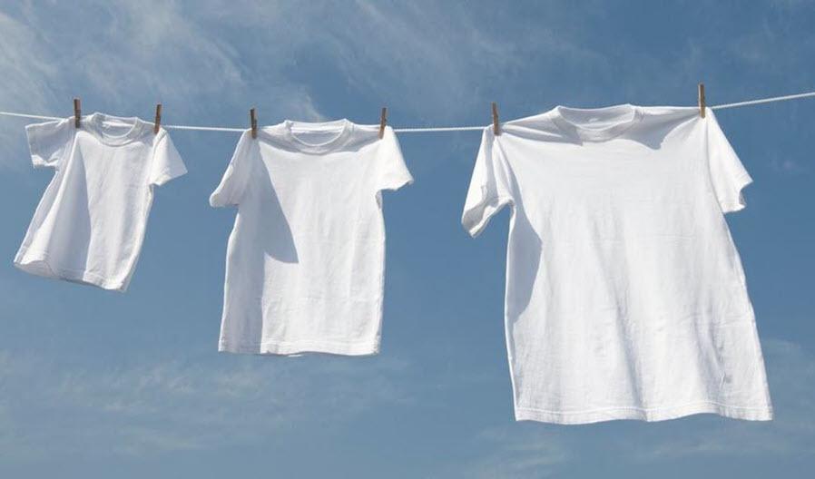 Mẹo hay cuộc sống giúp quần áo luôn trắng tinh tươm