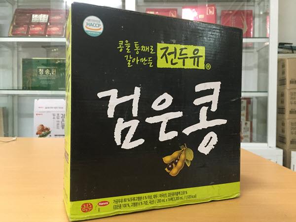 [Hanmi] - Sữa Hạt Đậu Đen 200ml (xách 16 hộp) - Sữa Hạt Hàn Quốc