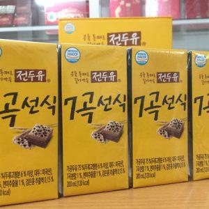 [Hanmi] - Sữa Hạt Ngũ Cốc 7 Vị 200ml (4 hộp) - Sữa Hạt Hàn Quốc