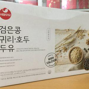 [Seoul Milk] - Sữa Hạt Óc Chó - Hạnh Nhân - Yến Mạch 190ml (xách 20 bịch) - Sữa Hạt số 1 Hàn Quốc