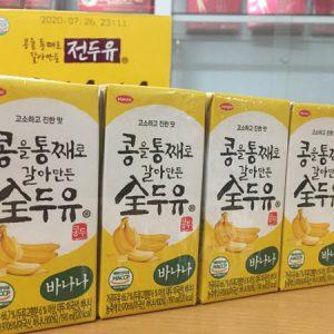 [Hanmi] - Sữa Hạt vị chuối 190ml (4 hộp) - Sữa Hạt Hàn Quốc