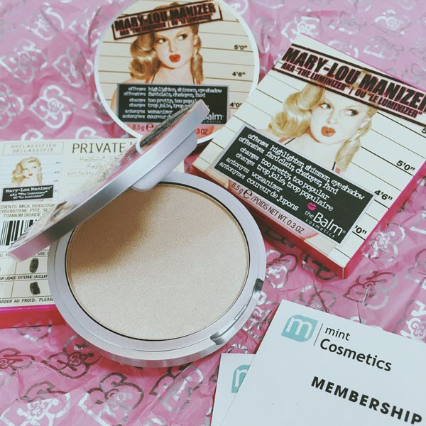 The Balm Mary-Lou Manizer - Highlighter, Shadow Shimmer