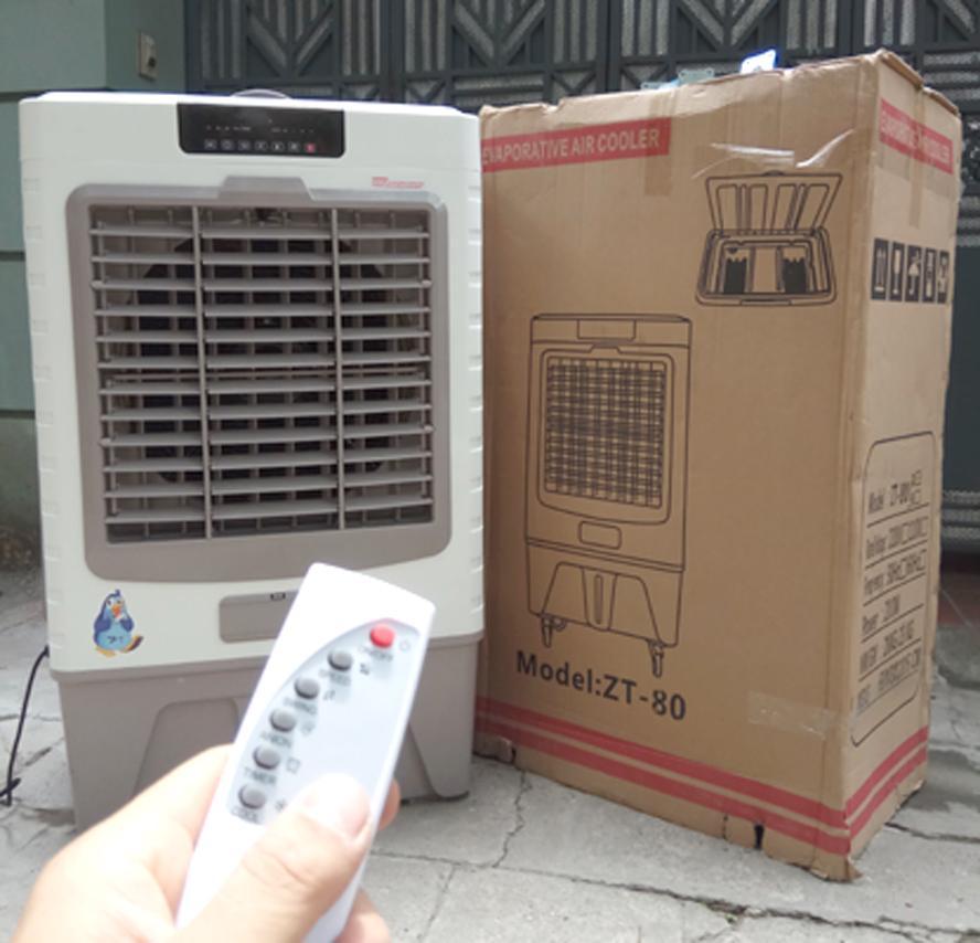 Bảo hành 24 Tháng Máy làm mát không khí quạt hơi nước YASHIMA ZT80 60 lít 200W 8000m3 Cảm ứng