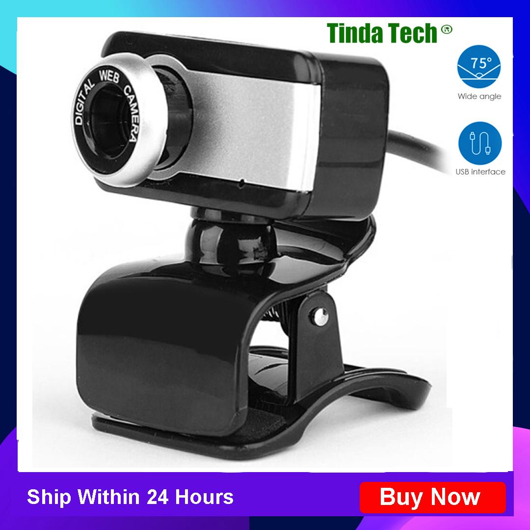 Có Hàng, USB 2.0 480P Camera Webcam Cho Máy Tính Xách Tay Web Cam Có Micrô Cho PC