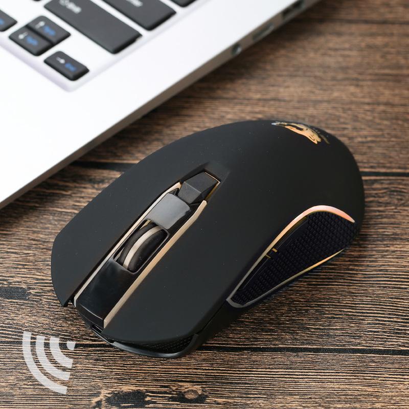 Chuột bluetooth không dây X9 USB Không Dây 1600DPI Chuột Chơi Game Quang Học Sạc Chuột cho MÁY TÍNH Laptop độ nhạy Cao