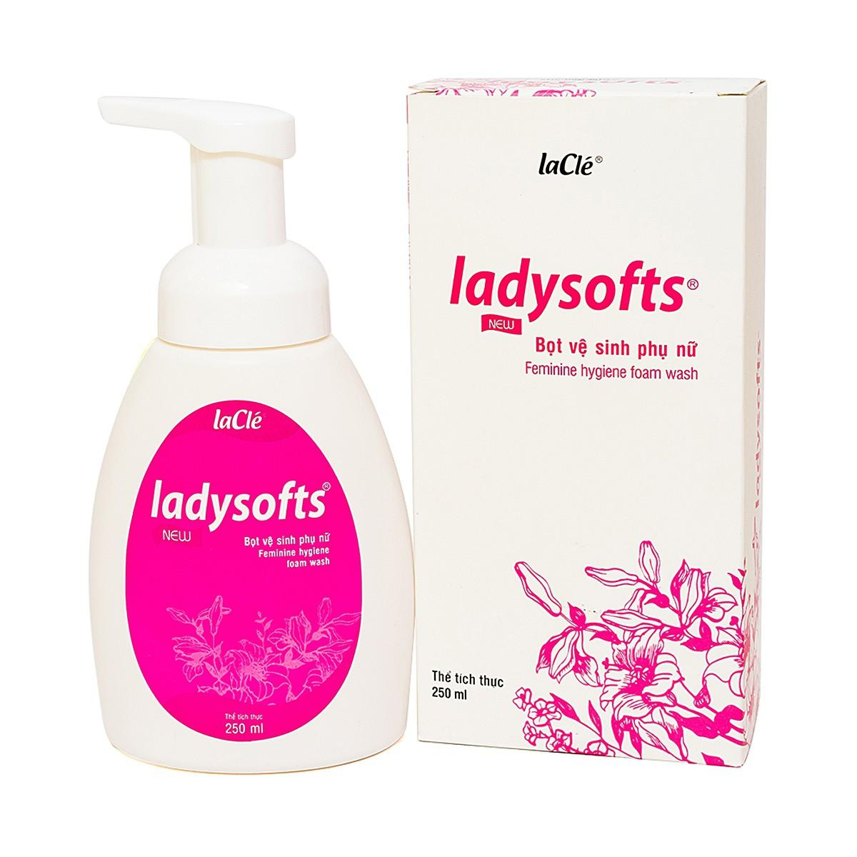 Dung dịch Bọt Vệ Sinh Phụ Nữ Ladysoft Feminine Hygiene 250Ml