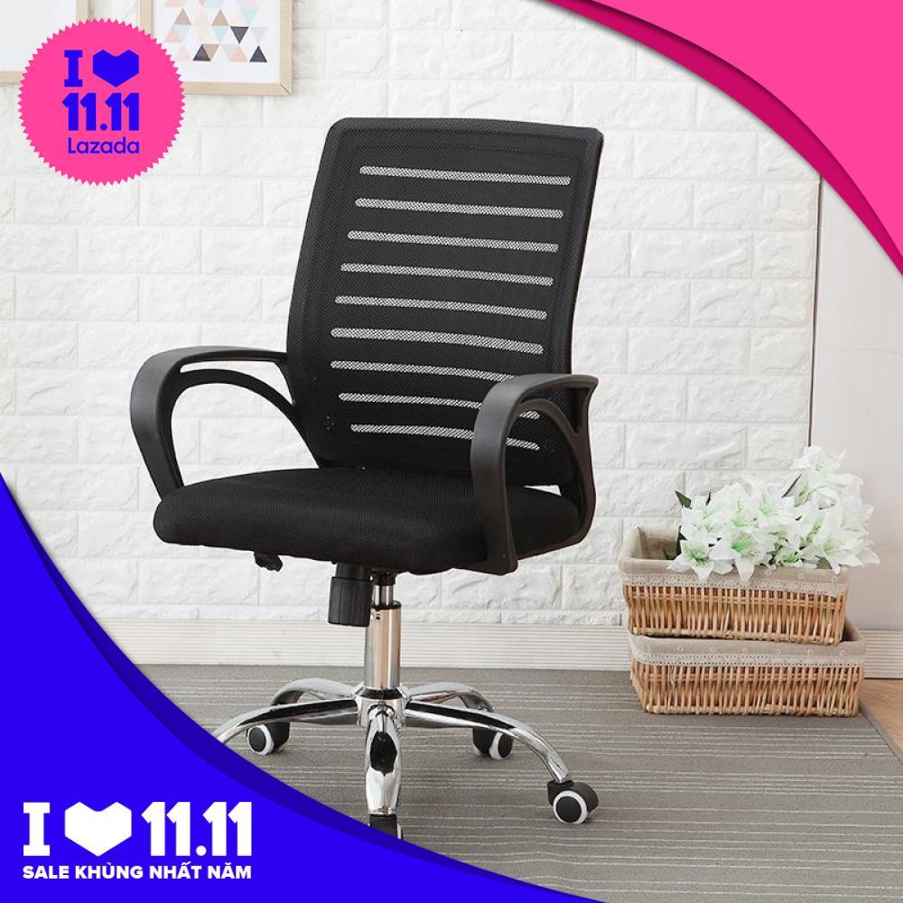 Ghế xoay văn phòng cao cấp Tâm house mẫu mới 2019 GX0018