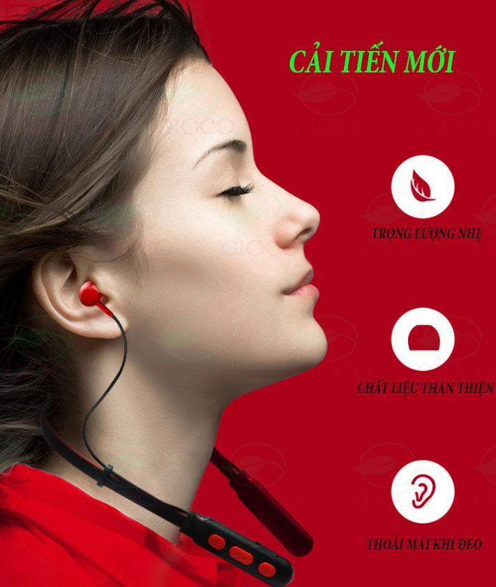 [ HOT –GIẢM 50% NHÂN DỊP SN ] Tai nghe thể thao B11 bluetooth 4.2 pin khỏe nghe nhạc cả ngày, tai nghe không dây có mic có tích hợp nam châm .[kaimono]