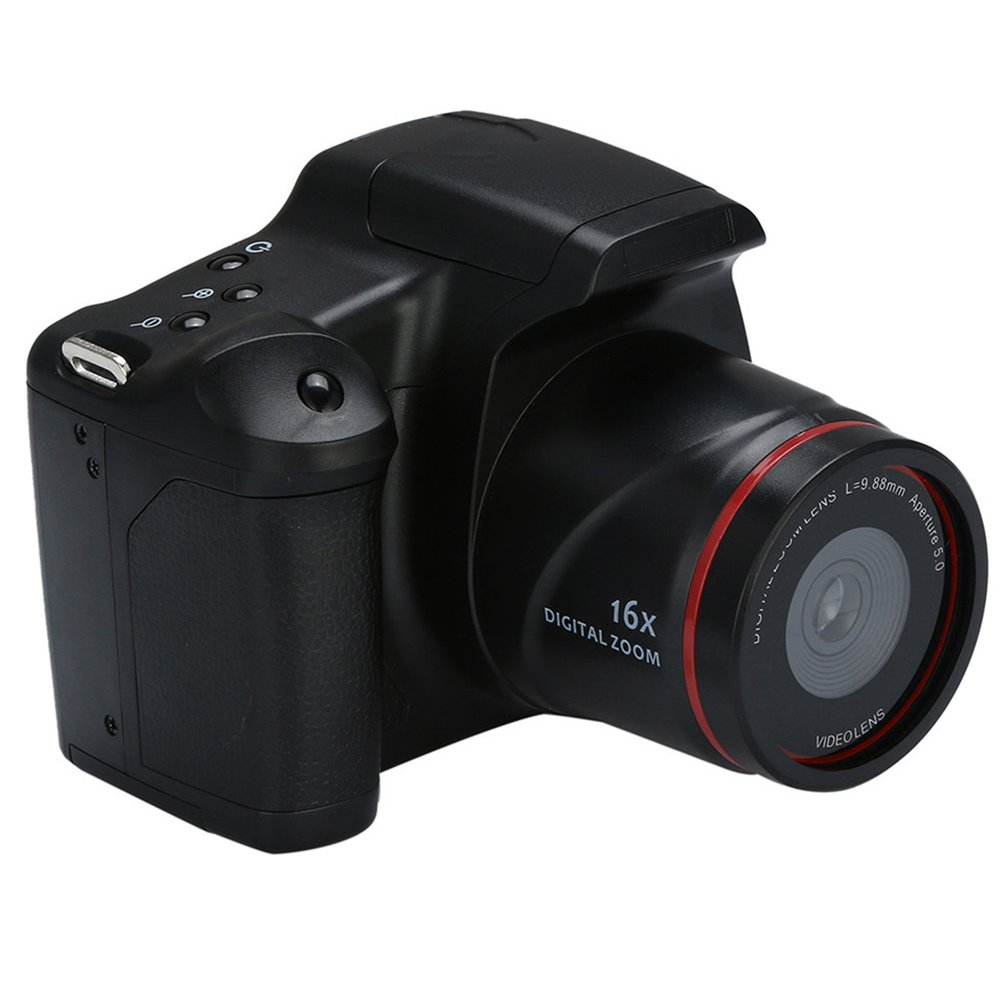 Lalove Máy Quay Video HD 1080P Cầm Tay Máy Ảnh Kỹ Thuật Số 16X Camera Zoom Số