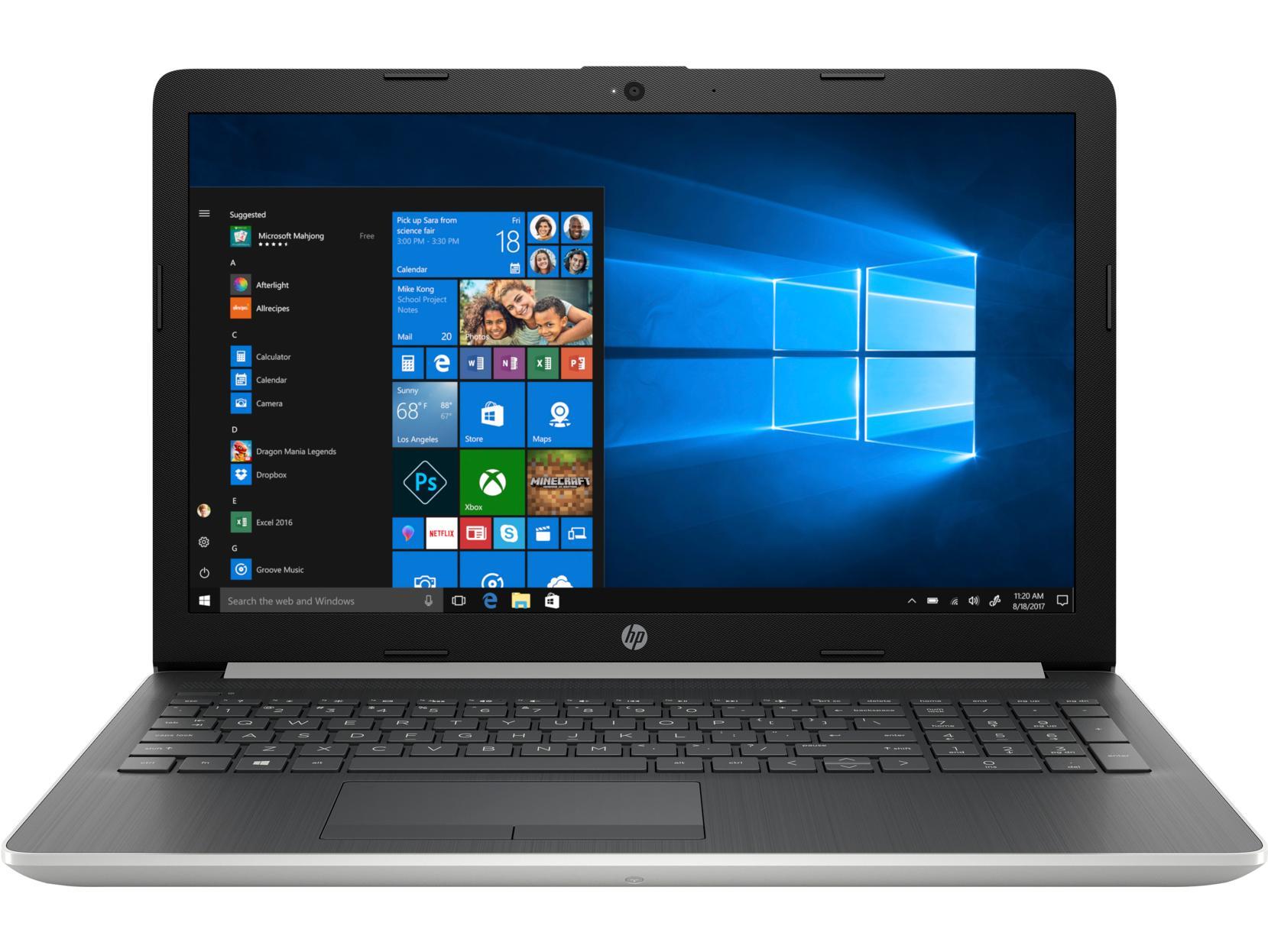 Laptop HP 15-da1031TX (Core i5-8265U/4GB RAM DDR4/1TB HDD/15.6'' HD/5NK55PA) - Hàng Chính Hãng