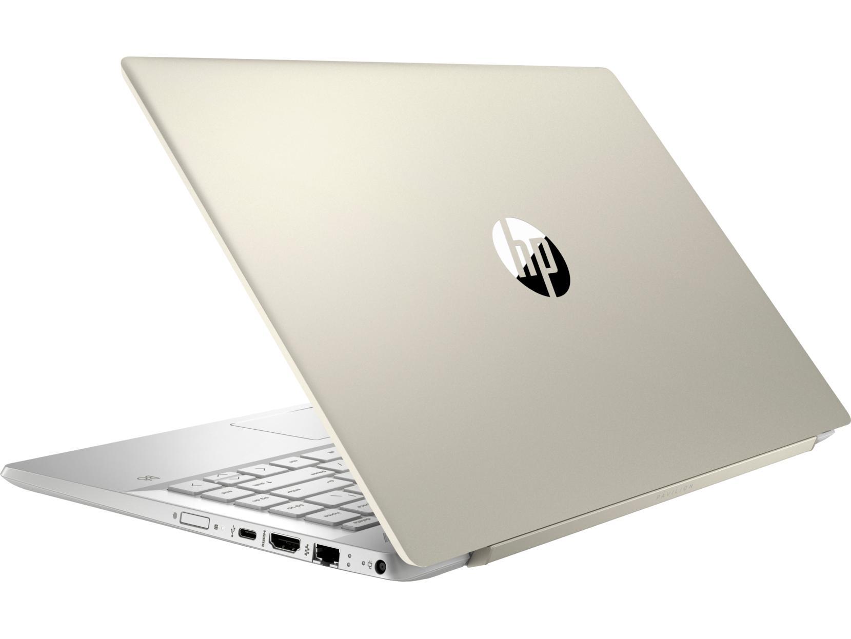 Laptop HP Pavilion 14-ce1008TU (Core i5-8265U/4GB RAM DDR4/1TB HDD/14'' FHD/5JN06PA) - Hàng Chính Hãng