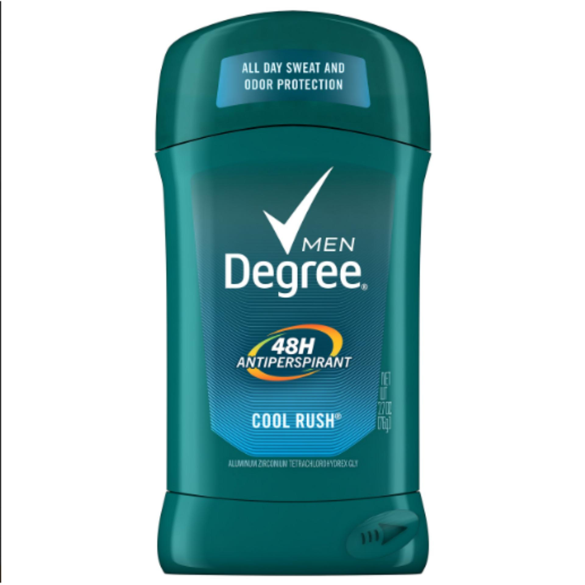 Lăn khử mùi Degree Nam 48h Antiperspirant Cool Rush 76g