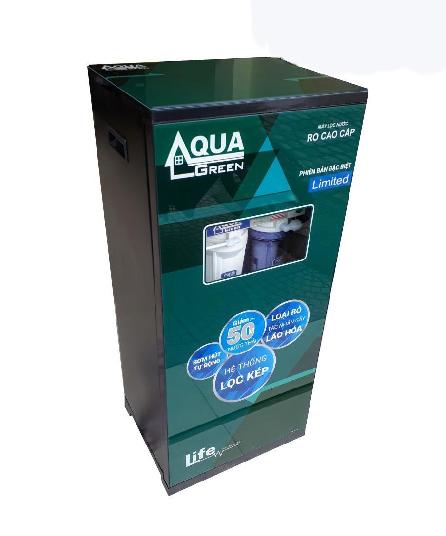 Máy Lọc Nước AQUA 10 lõi Lọc - Phiên bản đặc biệt + tặng kèm 3 lõi lọc - Bảo hành 2 năm