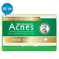 Phim Thấm Dầu Acnes Oil Remover Film (50 Tờ)