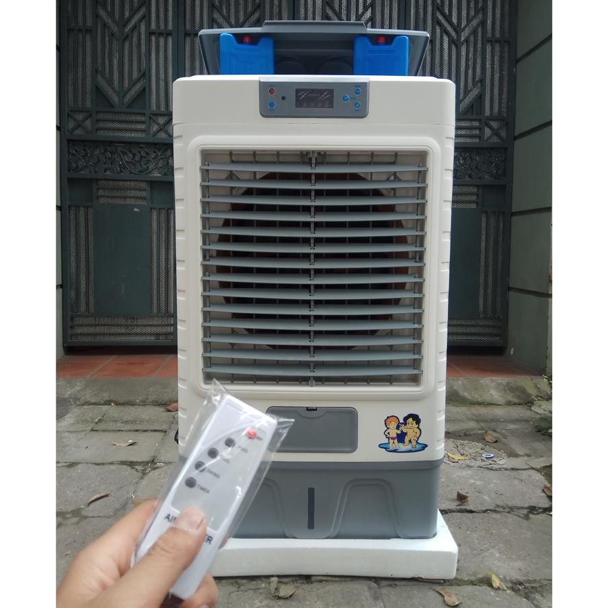 Quạt điều hòa quạt hơi nước YK JX6 200W 50 lít 8000m3 có điều khiển bảo hành 24 tháng