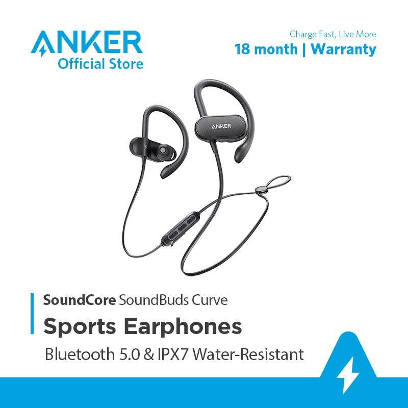 Tai nghe bluetooth SOUNDCORE SoundBuds Curve (By Anker) - A3411