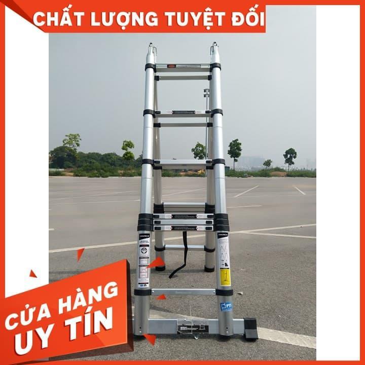 Thang Nhôm Rút Chữ A 4.4M (2.2m+2.2m)