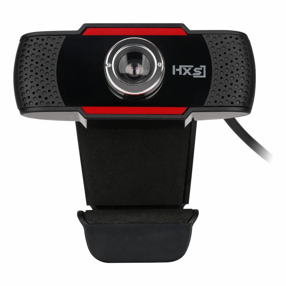 WEBCAM HXSJ S20 Webcam HD 480 P PC Camera Mic Thu MIC cho Skype cho Android TV Xoay Được Máy Tính Camera USB Web Cam