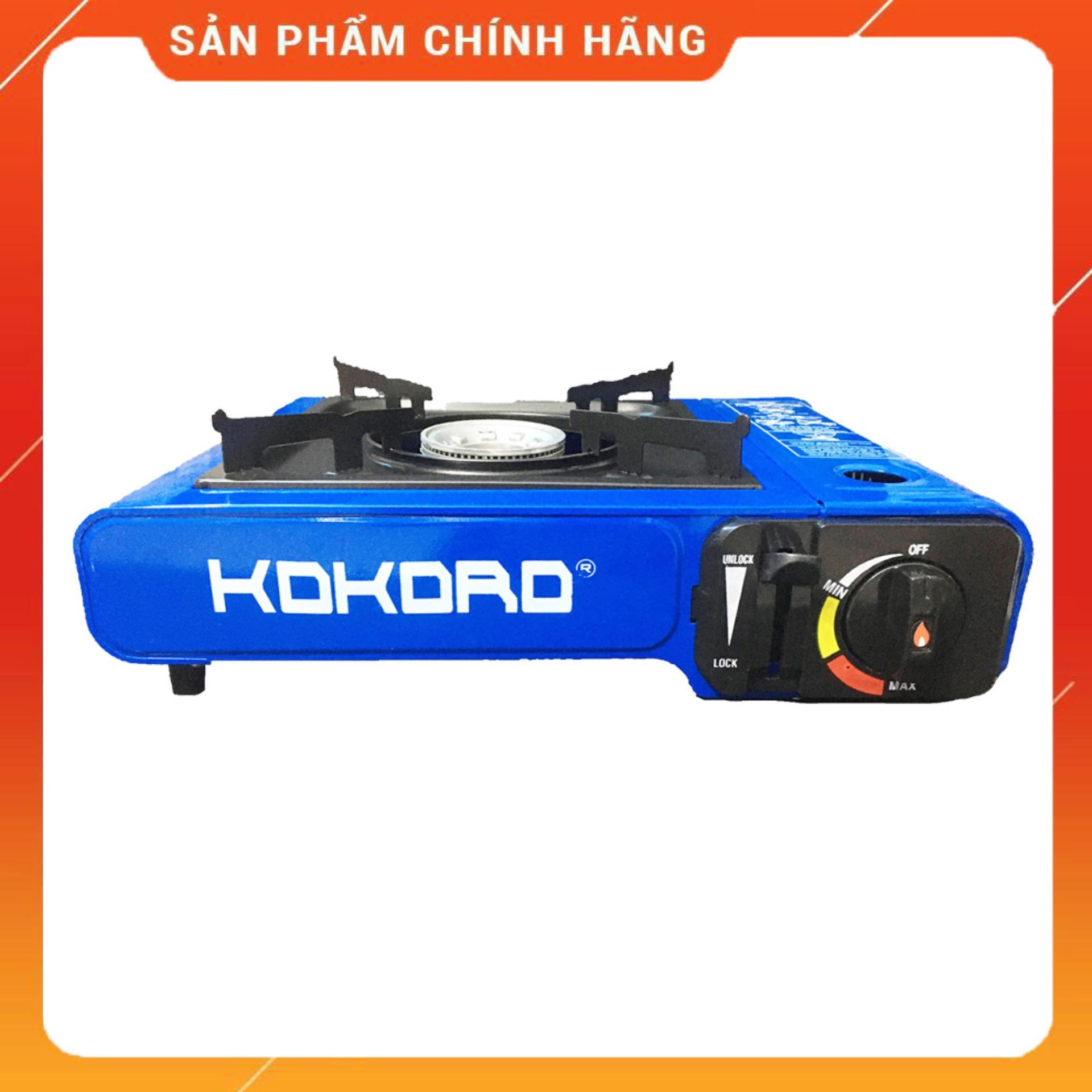Bếp gas du lịch Kokoro thân sơn tĩnh điện (bếp ga mini chống cháy nổ - an toàn sử dụng) - bep ga mini, bep gas mini, bep mini, bep du lich Namilux