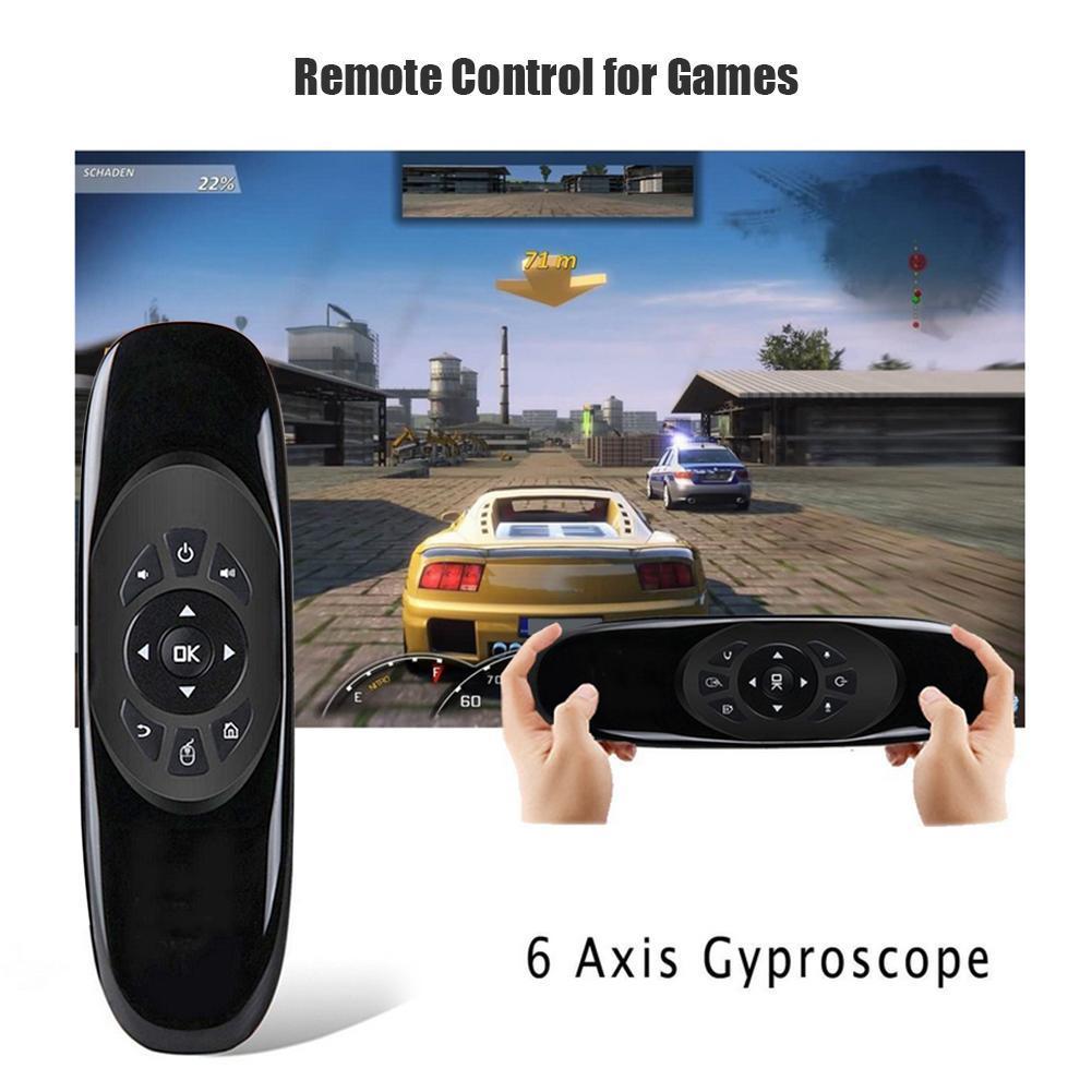 C120 Bay Air Mouse 2.4G Cảm Biến 6 Trục Đèn Nền Bộ Điều Khiển từ xa 3 trong 1 Bàn Phím Không Dây + Chuột Không Dây Bộ Điều Khiển Trò Chơi dành cho Android và TV Box
