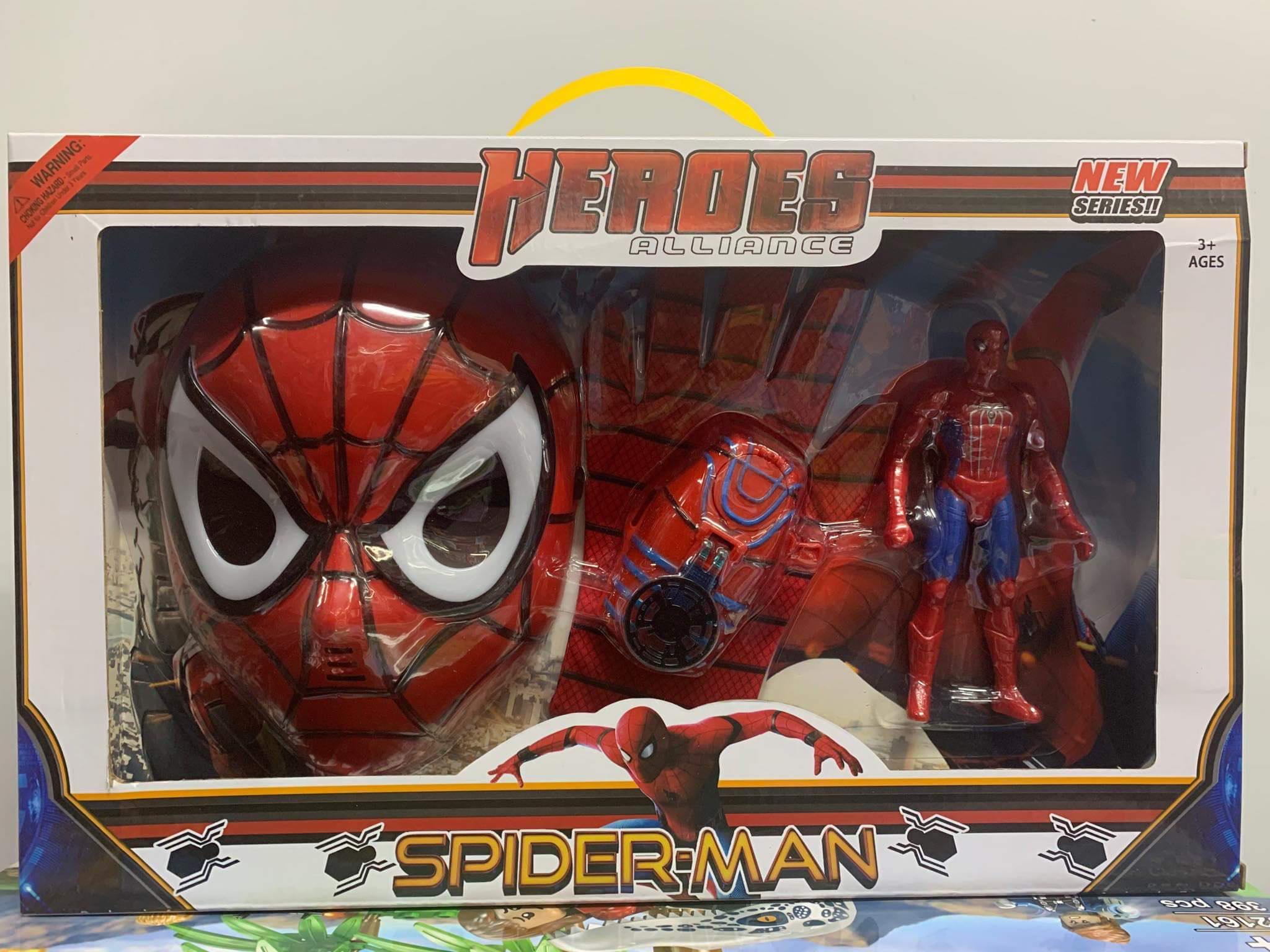 Đồ chơi bộ đồ siêu nhân người nhện HEROES ALLIANCE SPIDER MAN