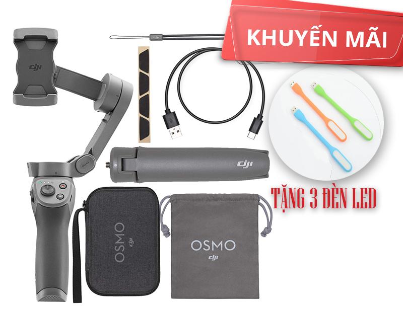 Gimbal DJI Osmo Mobile 3 Combo - Bảo Hành 12 Tháng